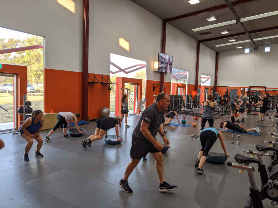 Group training with Fortify Fitness means business.