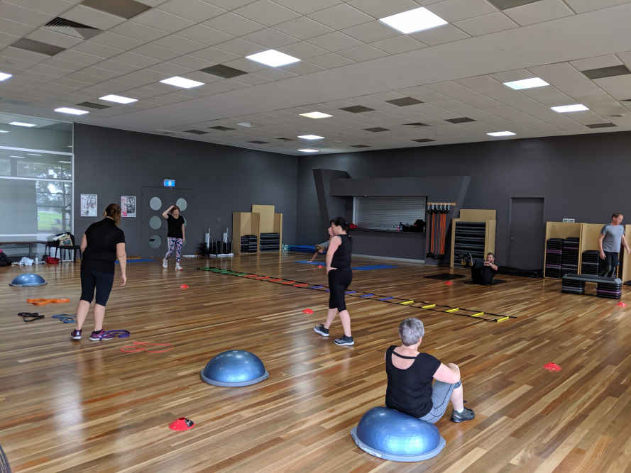 Fortify Fitness also provides women only group fitness classes.
