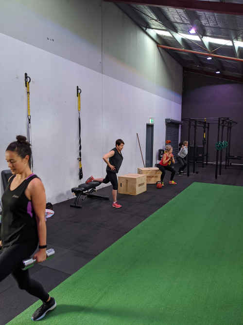 Small group fitness in Newport, VIC.