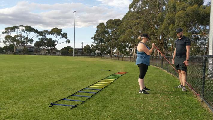 All necessary equipment supplied for you with outdoor training. Just come and train. Easy.