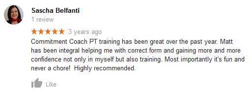 Outdoor personal training review for port melbourne.